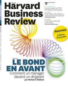 Harvard Business Review Francais