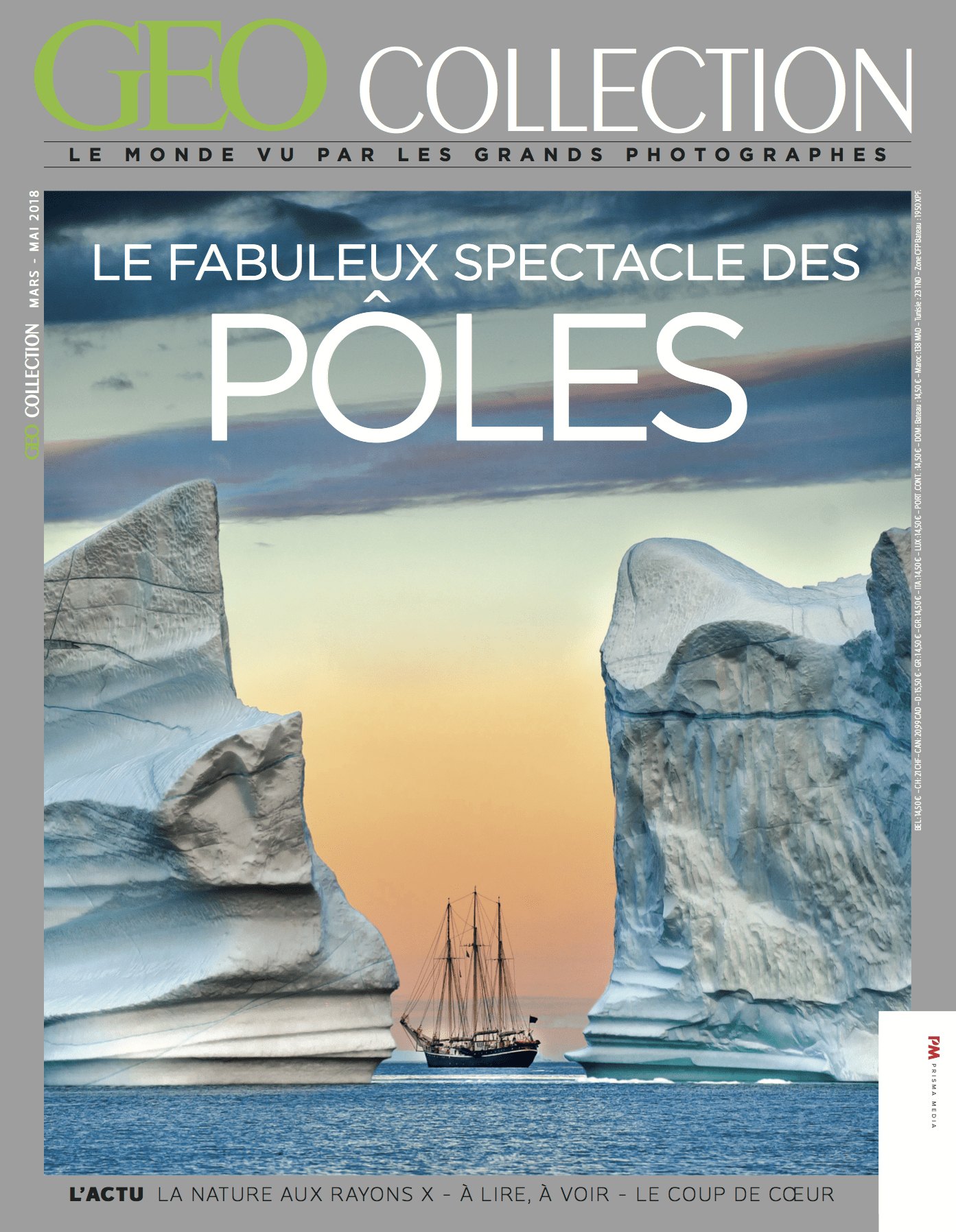 GEO COLLECTION N°5 _ Fabuleux spectacles des poles