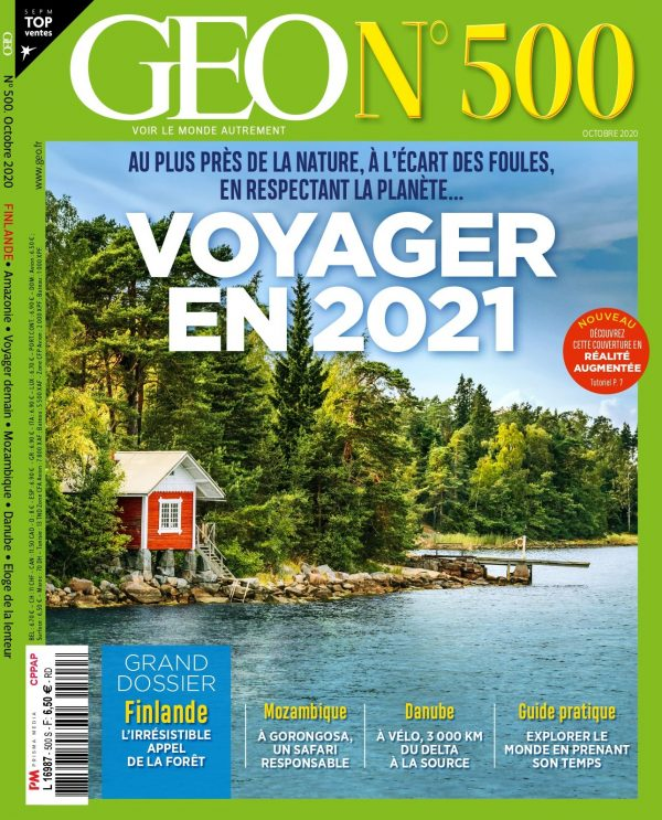 Couverture GEO n° 500